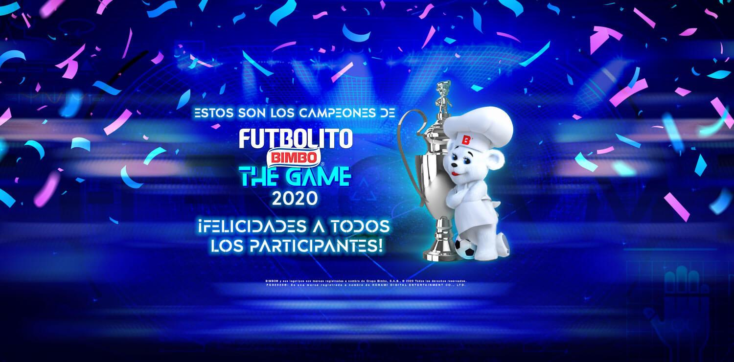 Ganadores Futbolito Bimbo The Game